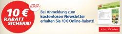 Beim Real Newsletter anmelden und 10 €uro Online – Rabatt kassieren @ Real.de