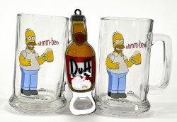 @buecher.de Homer Simpson – 2 Biergläser + Duff Beer Flaschenöffner für 13,99€ (idealo: 19,95€)