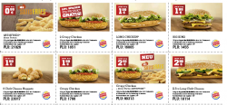 Burger King Gutschein für August @Burgerking