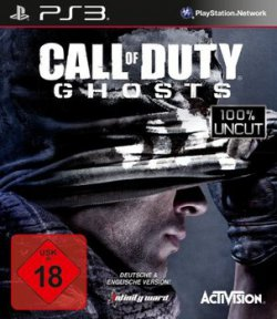 Call of Duty 10 (Ghosts USK 18) PS3 für 7,50 € (20,25 € Idealo) @redcoon
