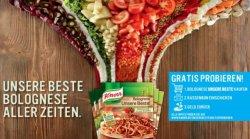 Cash back bei Knorr Fix für Bolognese Unsere Beste – Kaufen und Geld zurück erhalten