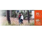 Center Parc bis zu 40% Coupons auf Ferienhäuser für Herbst/Winter