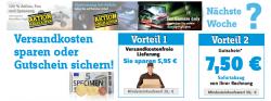 Conrad: Versandkostenfreie Lieferung oder 7,50€ Gutschein ab 50€ MBW freie Auswahl