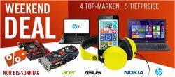 Cyberport Weekend Deal zb. Nokia Lumia 630 schwarz  + WH-530 Boom Headset gelb für 129€