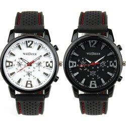 Damen und Herren Uhren von 1,99 € bis max. 10,39 € inkl. Versand @Amazon z.B. 2 Stück Herren Silikon Armband Uhr Militär Sportuhr für nur 6,99 €