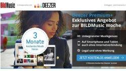 @Deezer-Premium-Musikerlebnis – 3 Monate kostenlos und unverbindlich testen