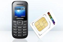 discoTEL Prepaid-Tarif mit 5 € Startguthaben + Samsung E1200 Handy für einmalig 4,95€