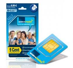 @EDEKA mobil: Prepaid-Simkarte mit mindestens 25€ Startguthaben für 10€