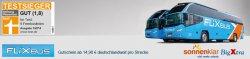 FlixBus Gutschein für 14,90€ Deutschlandweit pro Strecke @ Sonnenklar TV