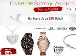 Galeria Kaufhof, Sonntagsangebote, heute bis zu 62 % Rabatt sichern