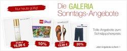 Galeria Kaufhof, Sonntagsangebote, Rabatte bis zu 57 % sichern, nur heute gültig