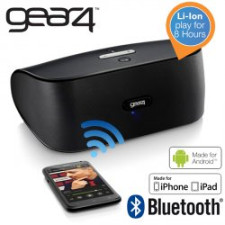 Gear 4 Street tragbarer Bluetooth-Lautsprecher für 24,95 € zzgl. 5,95 € Versand (42,85 € Idealo) @iBOOD Extra