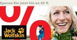 @globetrotter.de: bis 45% auf Jack Wolfskin !
