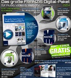 Gratis bei Pearl.de – Digital-Paket für Audio, Video & Web-TV – im Wert von 200€  (zzg.Versandkosten)