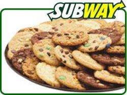 Gratis Cookie bei Subway