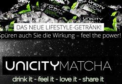 Gratisprobe: Neues Lifestyle Getränk – Unicity Matcha – bestellen @diamondachievers.de