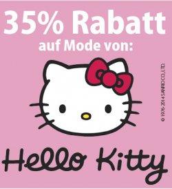 Hello Kitty Kindermode: auf alle Artikel 35% Rabatt @elfen.de