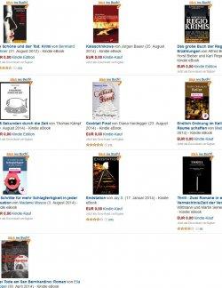 Heute 10 gratis eBooks mit einem Klick! zB  Kalaschnikowa  ein Waffenhändler-Thriller (Printausgabe 12,50€)