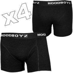 Hoodboyz 4er Pack Herren Boxershorts für 6,37€ inkl. Versand statt 16,35€ @hoodboyz.de