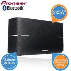 @iBOOD Extra: Pioneer XW-BTS1-K Bluetooth Lautsprecher, schwarz, 2x5W für für 35,90€ (idealo: 70,99€)