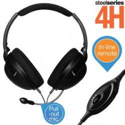 @IBOOD Extra: Steelseries 4H Gaming Kopfhörer mit In-Line-Lautstärkeregler und einziehbarem Mikrofon für 25,90€ (idealo: 49,88€)