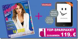 Jahresabo TV Spielfilm 54,60€ +  Tolino Vision eBook Reader für 64,40€ = 119€ @ TV Spielfilm