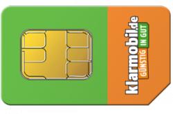 Klarmobil Allnet-Starter 100 Min/SMS, 400 MB im Vodafone-Netz für 1,37€/Monat @Handyflash