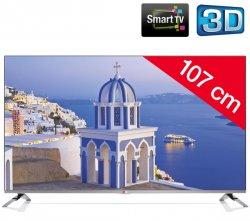 LG 42LB670V 107 cm (42 Zoll) 3D LED Smart TV für 549,00 € (662,00 € Idealo) @Pixmania