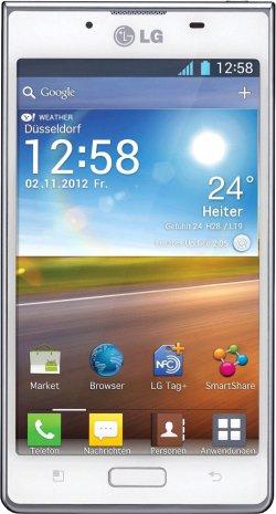 LG P700 Optimus L7 10,92 cm (4,3 Zoll) Android 4.0 Smartphone für 79,00 € (121,00 € Idealo) @Saturn