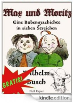 Max und Moritz Kindle Edition in Farbe gratis @Amazon