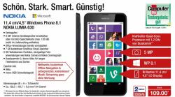 @mediamarkt.de und [Aldi Süd] bieten NOKIA Lumia 630 für 109€. Wobei Mediamarkt die Dual SIM Variante verkauft. (idealo Single SIM: 120€, Dual SIM 130€)
