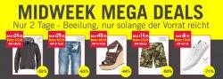Midweek MegaDeals bei MandM Direct z.B. Diesel Braddom Jeans 1RBRT für 29,95 Euro (statt 79,95 Euro bei Idealo)