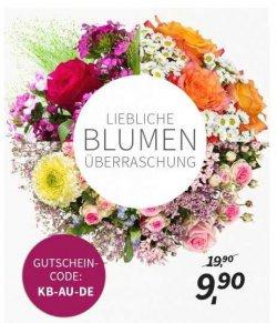 Miflora Überraschungs Blumenstrauß für 9,90€ statt 19,90€