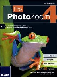 PhotoZoom 4 Pro für nur 4,95€ statt 58,89€ @franzis.de