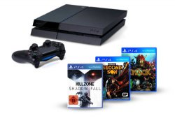 PlayStation 4 (PS4) 500GB + Knack + Killzone +Infamous für 404€ bei @Amazon.de (idealo: 469€)
