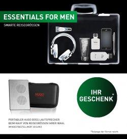 Portabler Hugo Boss Lautsprecher GRATIS beim Kauf von Produkten im Wert von 20 €uro @dergepflegtemann.de