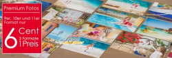 Premium-Fotos bei FOTO QUELLE nur 6 Cent – 3 Formate 1 Preis !
