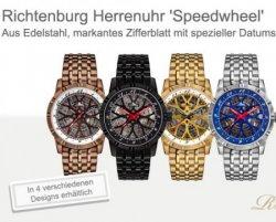 Richtenburg Speedwheel Herrenuhr in versch. Farben für nur 219,90€ [Idealo: 1550€] @shopping.de