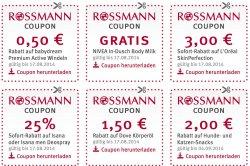 @rossmann.de:  Neue Coupons für Drogerieprodukte, Windeln, Deo, Hunde- Katzensnacks