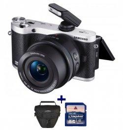 Samsung NX300M Kamera + 16-50mm Objektiv mit Tasche,16GB SD-karte für 379€ satt 450€/ohne Tasche + SD) @ebay