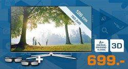 Samsung UE50H6470 126 cm (50″) 3D LED-Smart-TV mit Sprachsteuerung für nur 699 Euro (statt 817,99 Euro bei Idealo) bei Saturn