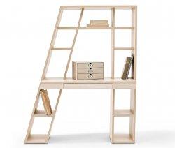Schreibtisch-Regalelement (Akazien-Holz-Optik oder Weiß) ab 189 € bei tchibo.de