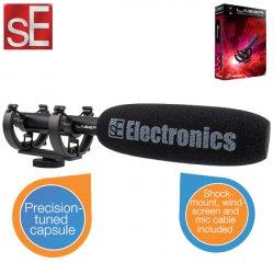 sE Electronics ProMic Laser Shotgun-Mikrofon (für Spiegelreflexkameras) für 69,95 € zzgl. 5,95 € Versand (125,00 € Idealo) @iBOOD Extra