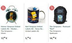 Simpsons Rucksack und Wecker mit Wackelbild für 16,99€ inkl. Versand statt 36,93€ mit Gutscheincode