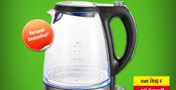 Sinbo Glas-Wasserkocher für 24,00 €uro(31% Rabatt), versandkostenfrei bei voelkner