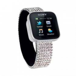 Sony Xperia Smart Watch Swarovski Armband für 39,95€ [idealo 55€ ] @ CW-Mobile