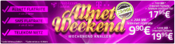 Telekom Allnet Flat Weekend Deal ab 9,90€ @ Handy2Day