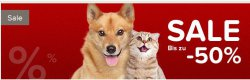 Tierbedarf-Onlineshop mit 50 % Rabatt im Sale + 50 % Gutscheinrabatt @Petobel
