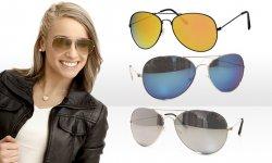 Unisex 3er-Pack Pilotenbrillen für 9,95 Euro statt 53,97 Euro bei Groupon