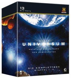 Unser Universum als Komplettbox, Staffel 1-4 auf 13 Blu-Rays für nur 19,97€ statt 48,30 (Idealo)